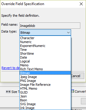 Override Field as Image in Reports