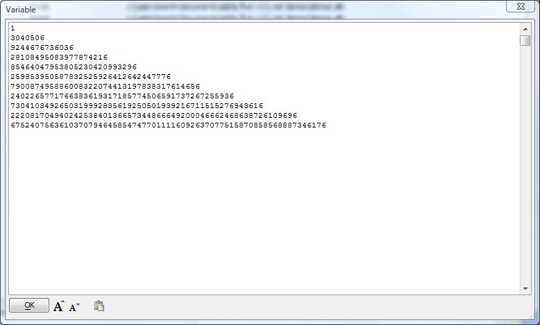 DotNet Example: Big Integers