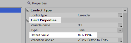Displaying Events on a Calendar Control from an External