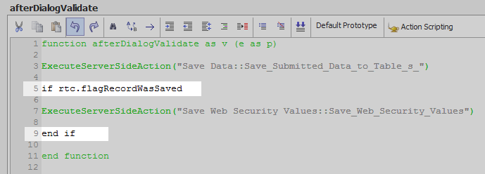 Save Submitted Data to Tables