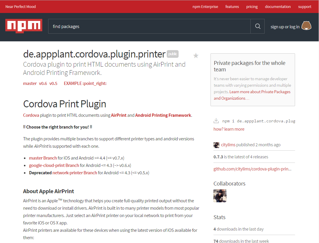 User Included PhoneGap Plugins