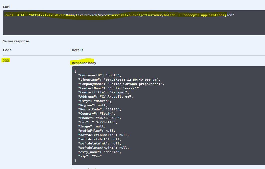 Creating REST APIs
