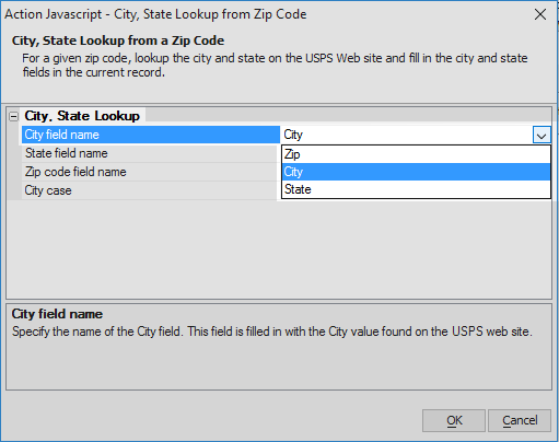 City, State Lookup from Zip Code