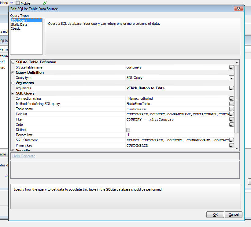 PhoneGap - SQLite Actions