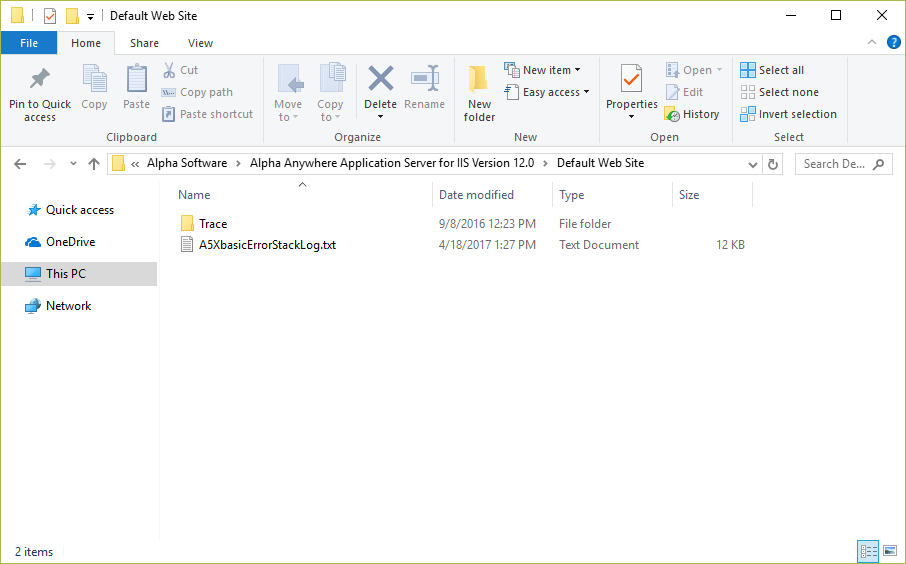 IIS Log Files